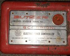 Vintage Blitzer Scorpion Electric Fence Controller
