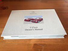 Mercedes C Class W203 Owners Manual C180 200 240 320 C32 AMG & 200 220 270 CDI .