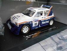 AUSTIN MG METRO 6R4 Rallye Gr. B McRae #15 RAC GB WM 1986 RAR Sunstar 1:18