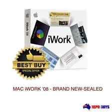 5 X Apple iWork '08 2008 DVD Part # Ma790z/a