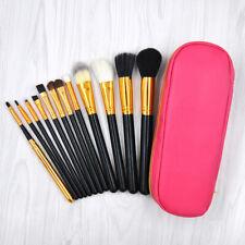 12pcs Kabuki Makeup Brush Set Cosmetic Foundation Powder Lip Brushes kit Tool HW