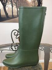 Loeffler Randall Green  Women Rain Boots US 7