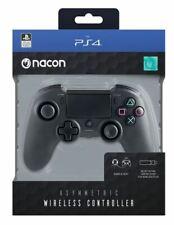 NACON Controller Wireless Asimmetrico Joystick per PS4 Nero PS4OFPADWLBLACK