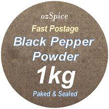 Pepper Black Powder 1kg (ground) Herbs & Spices - ozSpice