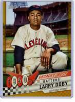 Larry Doby 2020 Topps Decades Best 5x7 Gold #DB-11 /10 Indians