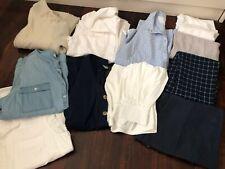 Ladies WINTER Clothes BULK LOT Bundle SHIRTS Pants TOPS Jacket SIZE LARGE L 14