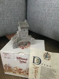 Lilliput Lane Bridge House Collection boxed with deeds