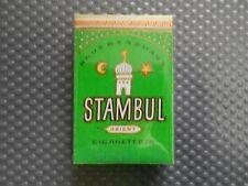 Stambul Orient Haus Bergmann alte Zigarettenschachtel Attrappe (B7)