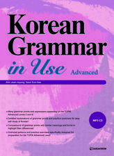 Korean Grammar in Use Advanced Textbook + MP3 CD(English ver) Language Study