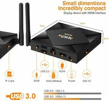 Smart TV Box Android 10.0 con 4G+64G,8K,WiFi 2.4G/5G,64-Bit