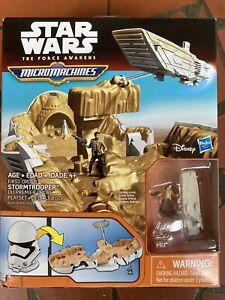 Star Wars The Force Awakens Micro Machines Stormtrooper Play set