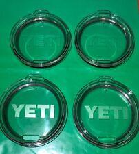 (4) Yeti Original Replacement Lids for 30oz Tumbler ~ Authentic ~ NEW