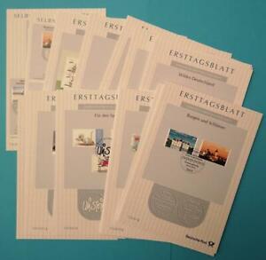 Bundesrepublik Bund ETB kompl. Jahrgang 2013 komplett mit allen Sonderblättern