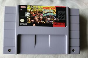 Donkey Kong Country 2: Diddy's Kong Quest SNES Game Authentic Tested & Working!