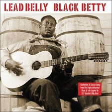 Lead Belly - Black Betty (180g Gatefold Vinyl 2LP) NEW/SEALED