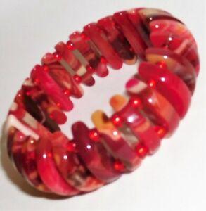 Sobral Pop Art Meia Lua Red Gorky Half Moon Bracelet Brazil Import
