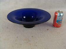 Antique Pairpoint Cobalt Blue Glass Console Bowl