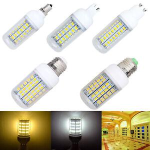 Dimmable 110V E26 E27 E12 G9 GU10 9W 14W 22W SMD 5730 LED Corn Light Lamp Bulb