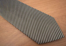 """Paul Smith OR & ARGENT CRAVATE """"MAINLINE"""" Multi-rayures Made in Italy 100% Soie"""