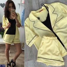 Damen Anzug Sommer Anzug Coctail Anzug Super mini M NEU