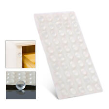 50 PCS Self Adhesive Silicone Rubber Cabinet Door Pad Bumper Stop Damper Cushion