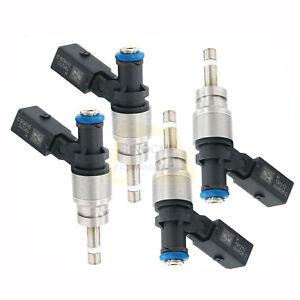 4PCS Fuel Injectors 079906036D FIJ0008 Fits Audi RS4 R8 4.2L V8 Hitachi FJ1042