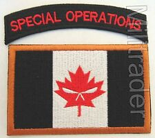 Canada Canadian Joint Task Force 2 (JTF2) Patch with Special Forces Tab