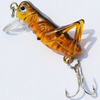 Sea Fishing Tackle Flying Fishing Lures Jig Wobbler Lure Grasshopper Insects S6