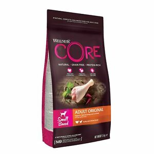 Wellness CORE Small Breed Original Dog Food Dry, Grain Free - Turkey with Chi...
