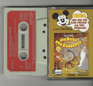 EURE FREUNDE AUS DEM DISNEYLAND MC - DIE HEXE UND DER ZAUBERER RECORD 1978