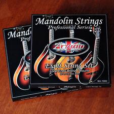 Adagio Mandolin Strings Pro, 2 Full Packs Ideal For Bluegrass Chop Rhythm