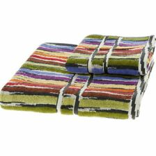 MISSONI HOME Two Piece Multicolour Jeff Towel Set Bath Sheet + Guest Towel