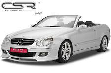 Spoiler Frontspoiler Lippe Frontansatz für Mercedes Benz CLK W209 C209 A209 -