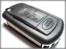 QUALITY RANGE ROVER SPORT, LAND ROVER DISCOVERY 3, 3 BUTTON FLIP KEY FOB CASE