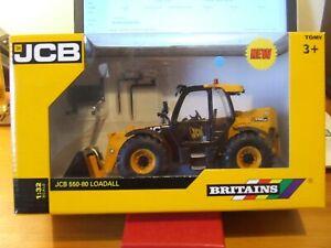 Britains 42872 JCB 550-80 Loadall, 1:32, BNIB