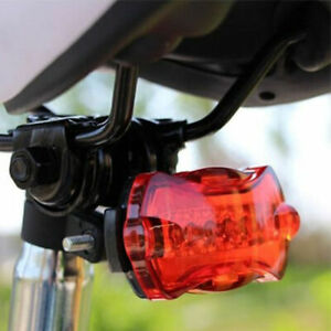 New 5 LED Bike Tail Cycling Warning Rear Lamp Light Bicycle Safety Taillight