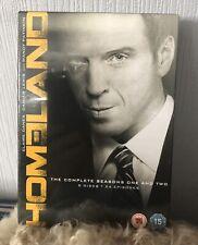 Homeland Seasons 1 & 2 Dvd Box Set New Sealed
