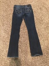 60$ Girls/junior/teen Silver Jeans, Tuesday Size 16.5. W25/L31