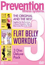 Prevention Fitness Systems DVD Region 4 Express Belly Blast Flatten Belly