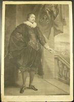 Ritratto Nicolaes Van Der Borcht Dyck / Vermeulen Battaglia Navale Battleship