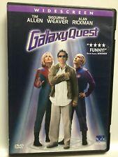 Galaxy Quest (Dvd,2000,Widescreen) Tim Allen,Sigourney Weaver,Great Shape! Usa!