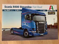 +++ Italeri 1:24 Scania R400 Streamline (Flat Roof) 3947