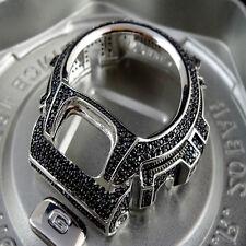 Casio G-Shock/G Shock 6900 Black Lab Simulate  Diamond White G/P Watch Bezel Men