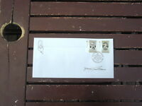 FREEMASONS GRAND INSTALLATION POSTMARK SOUVENIR COVER SIGNED BRADMAN STAMPS
