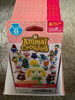 Animal Crossing Amiibo Cards Series 4 Unopened Box 18 Packs W 6 Cards Per Pack
