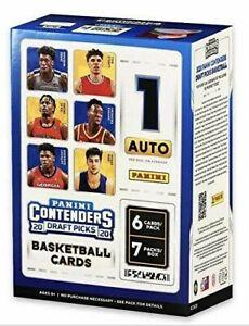 2020-21 Panini NBA Contenders Draft Picks Basketball Blaster Box Factory Sealed