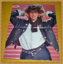 NENA / WHAM - 4-seitiges Super 80er Bravo Poster - TOP