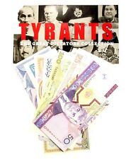 New listing World Tyrants,Great Dictators Collection of 8 Unc Banknotes With Certificate