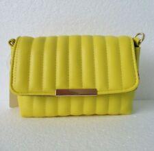 Womens Small Yellow Handbag. Yellow Shoulder Bag. Handbag With Shoulder Strap