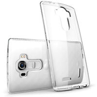 Clear Transparent TPU Silicone Gel Soft Protective Skin Case Cover For LG G4